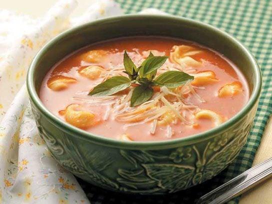 tomato soup tortellini
