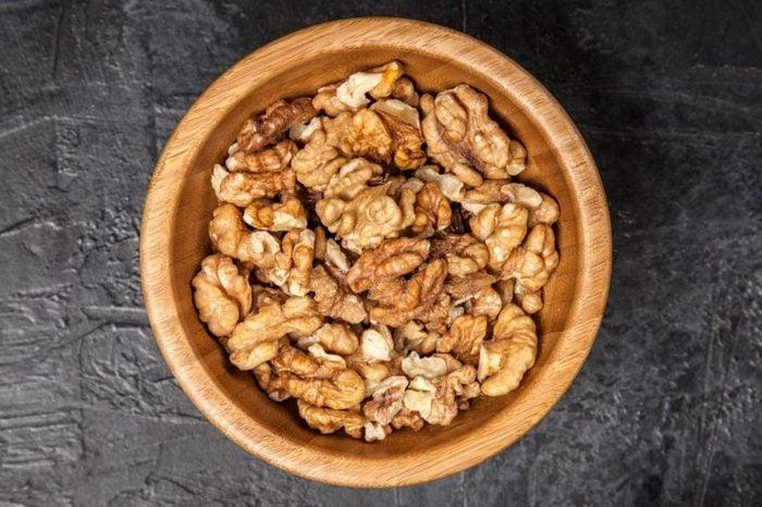 Walnuts top view