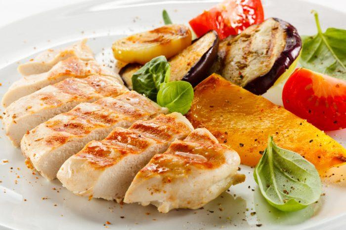 turkey cutlets tenderloin vegetables