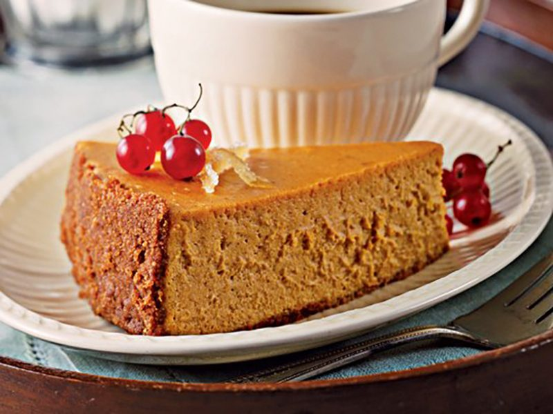 Pumpkin Maple Cheesecake