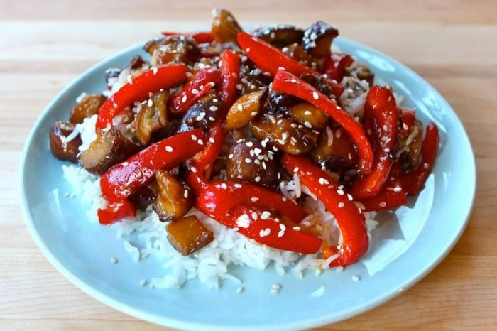 Sweet-and-Sour-Eggplant