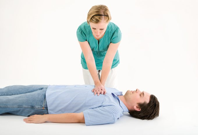 CPR steps
