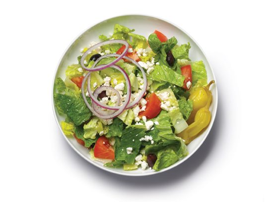 stop and drop greek salad
