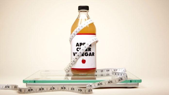 apple cider vinegar weight