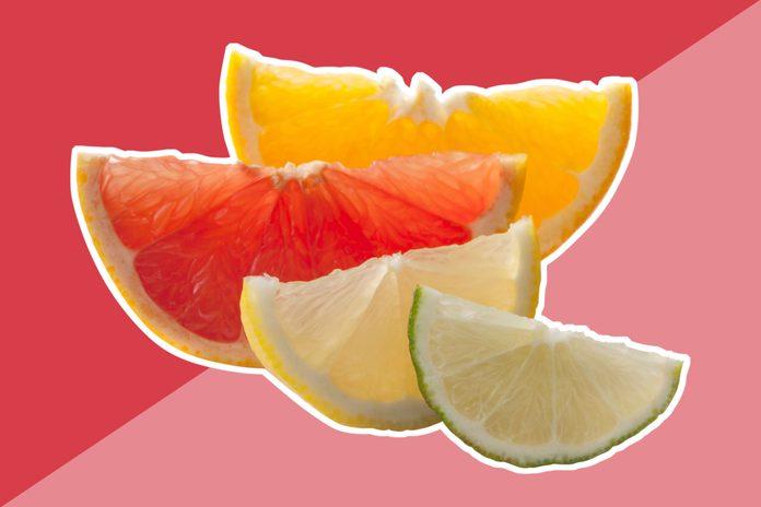 healthy food healthy skin citrus