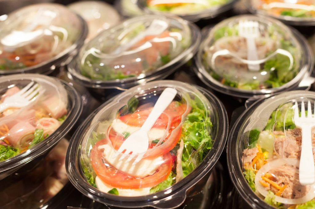 packaged salads