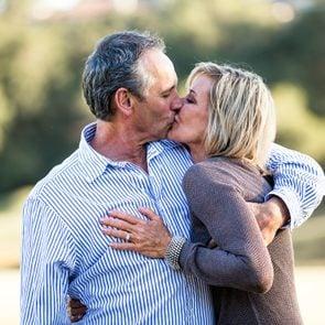 low sex drive man kissing woman