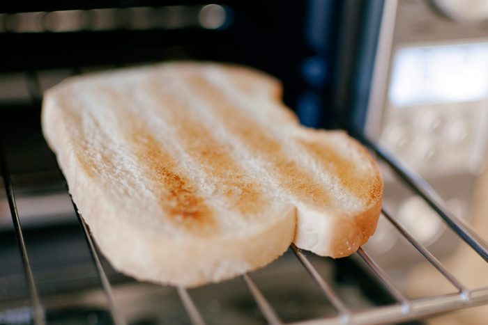 slice of toasted white bread