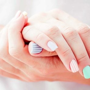 nails reveal health manicure