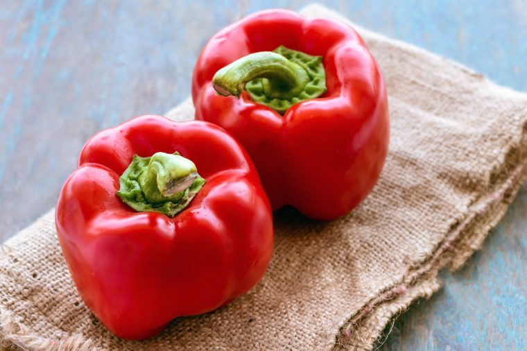foods help lose weight red peppers