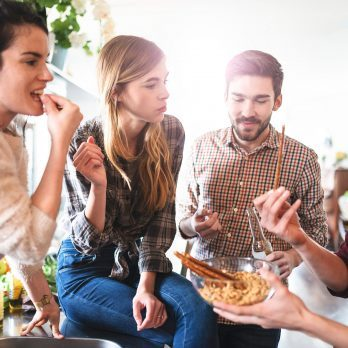 The Best, Proven Ways to Keep Off Holiday Party Pounds