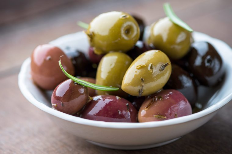 12-food-questions-weight-loss-green-olives