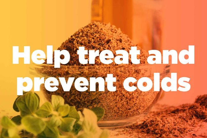 """graphic saying """"Help treat and prevent colds"""""""