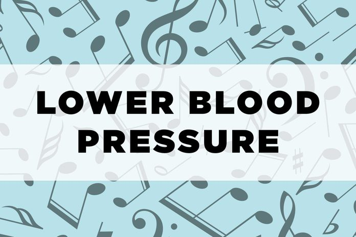 graphic text: lower blood pressure