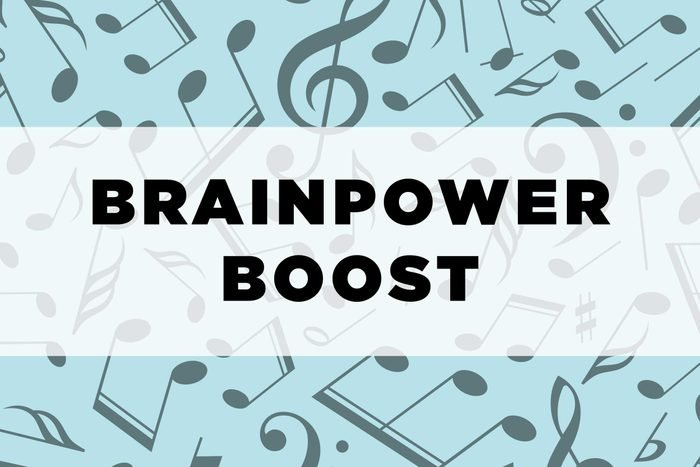 graphic text: Brainpower boost