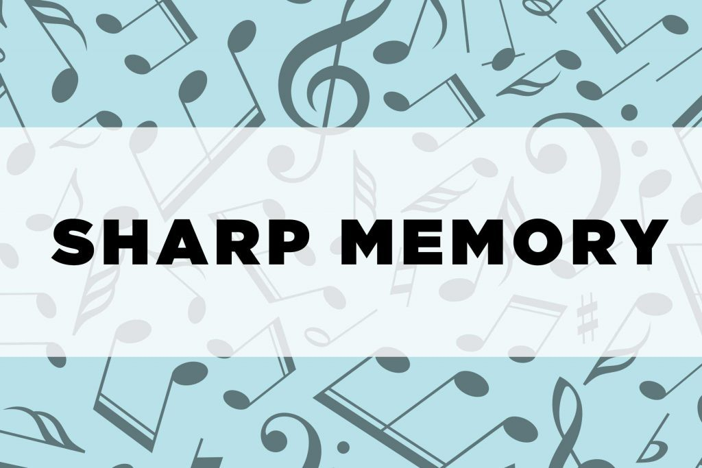 graphic text: Sharp memory