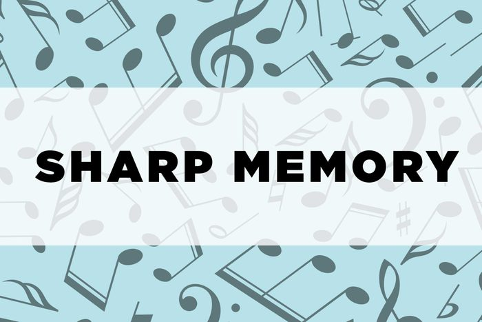 graphic text: Sharp memory