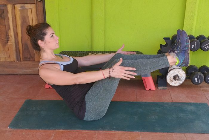 V Sit Exercise