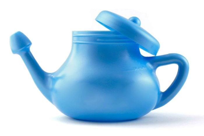blue neti pot