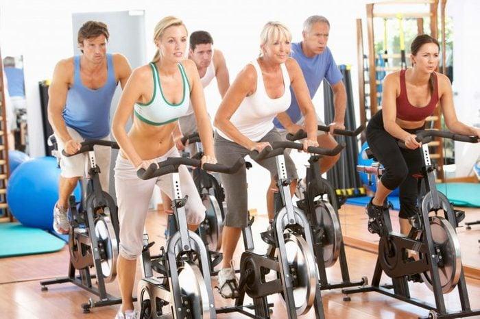 cycling class