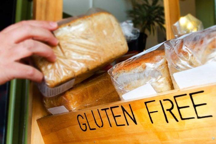 gluten free bread in store