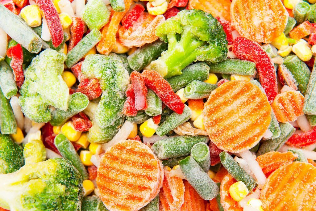 frozen mixed veggies