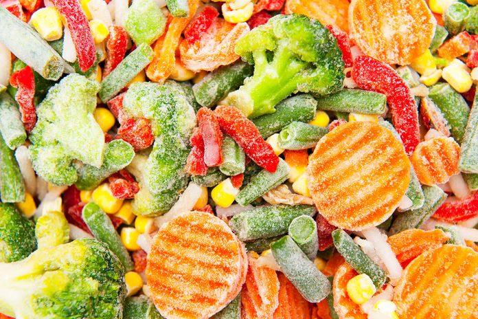 frozen mixed veggies