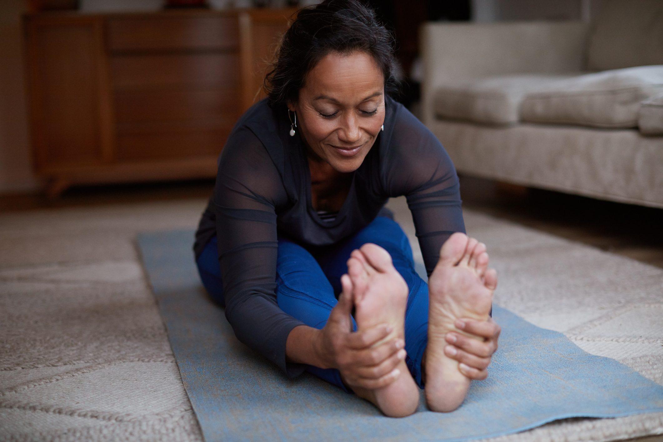 yoga seated fold foward