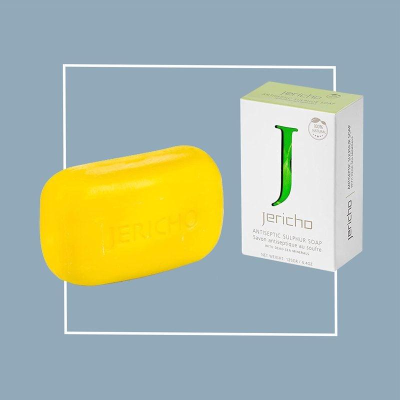 jericho dead sea sulfur soap bar