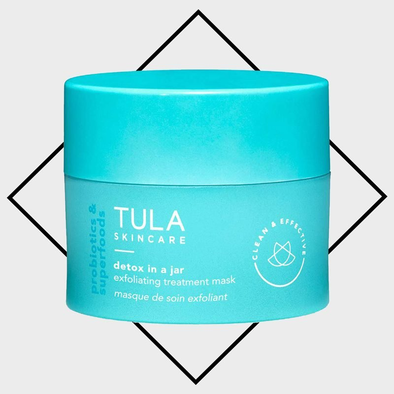tula exfoliating face mask
