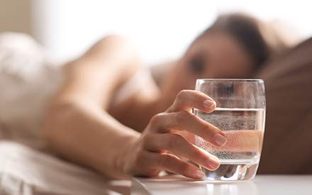 Can You Get Dehydrated While You Sleep? Here's What an Expert Says