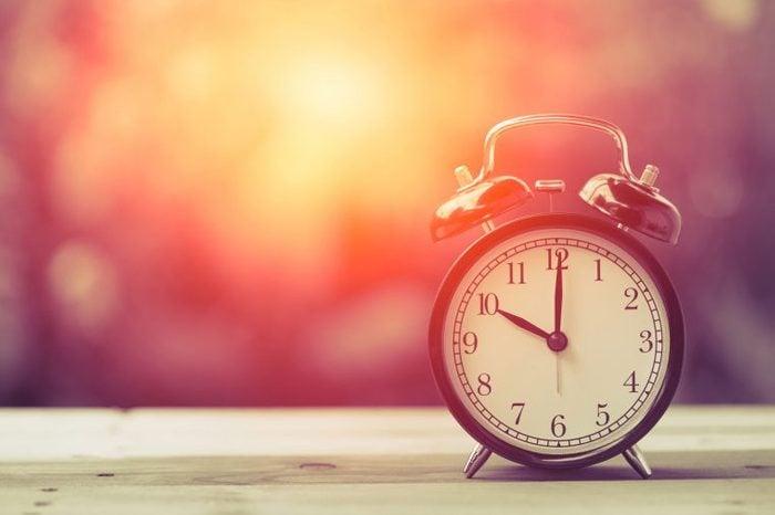 old-style alarm clock
