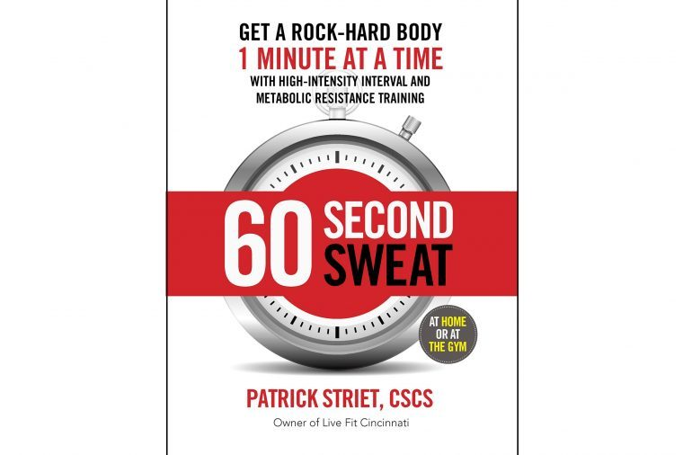 "Front cover of book ""60 Second Sweat"""