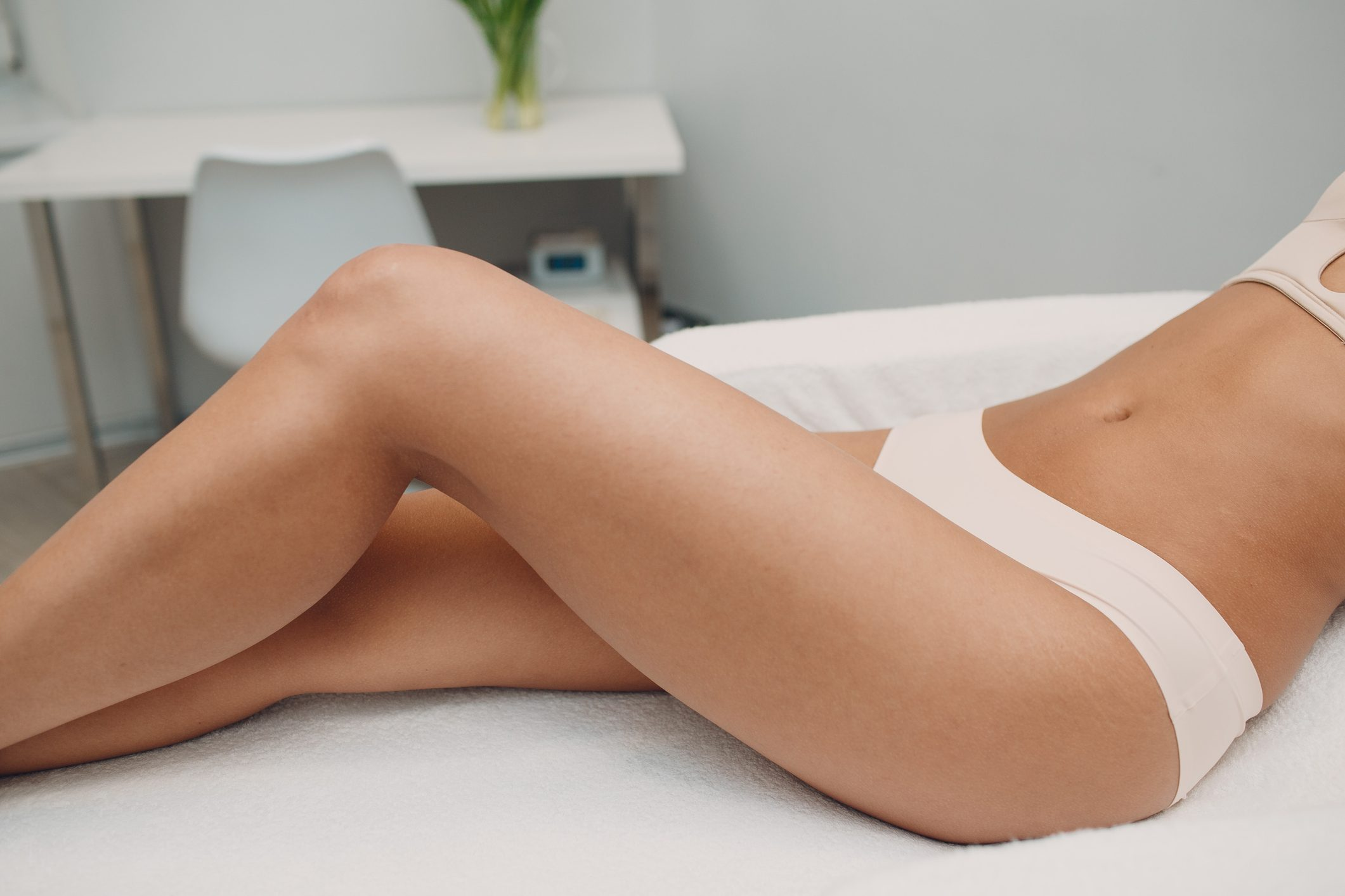 laser hair removal concept