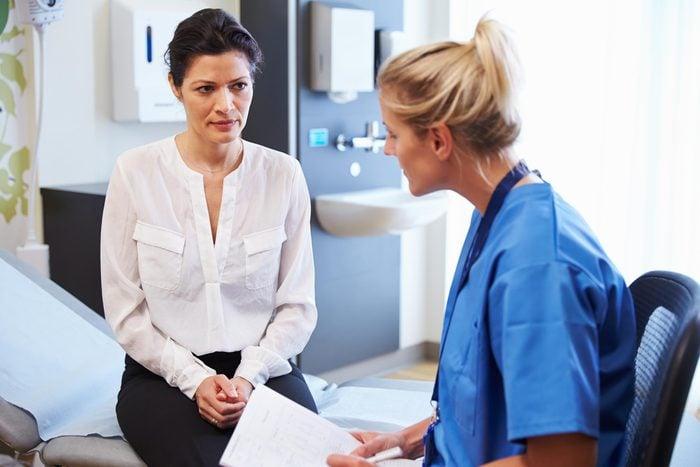 hisapanic woman doctor hospital