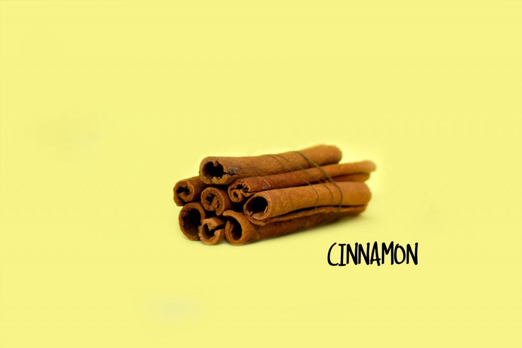 Cinnamon sticks.