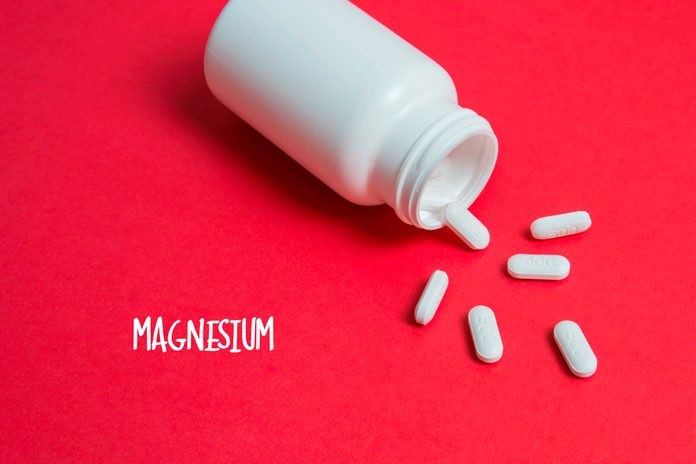 Magnesium tablets.