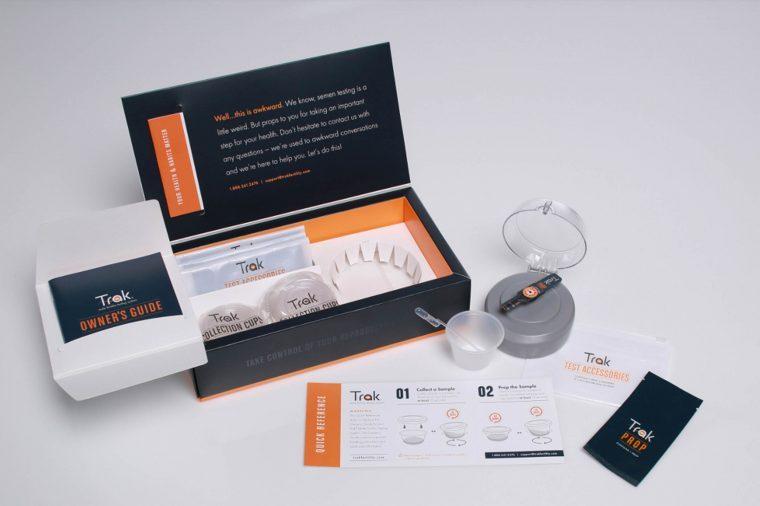 at-home male fertility testing kit
