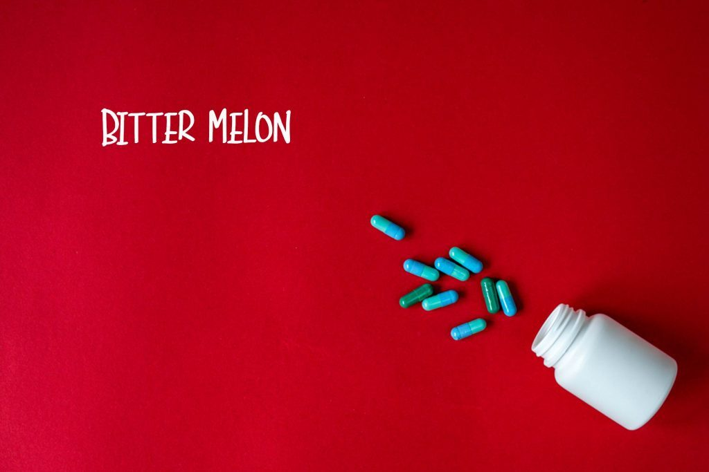 Bitter melon supplements.