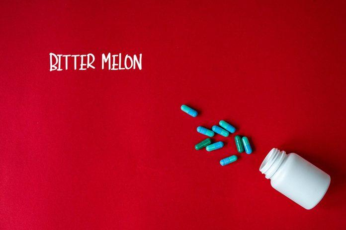 Bitter melon supplements.
