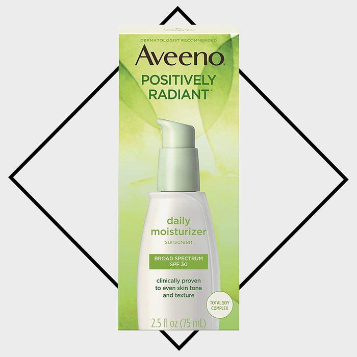 aveeno positively radiant moisturizing foundation
