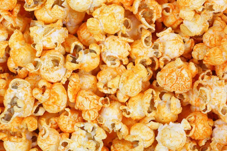 Seasoned popcorn.
