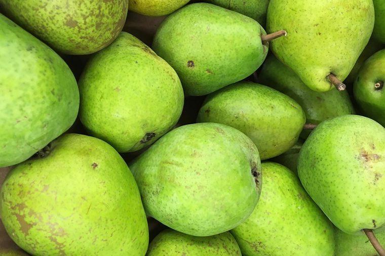 Whole pears.