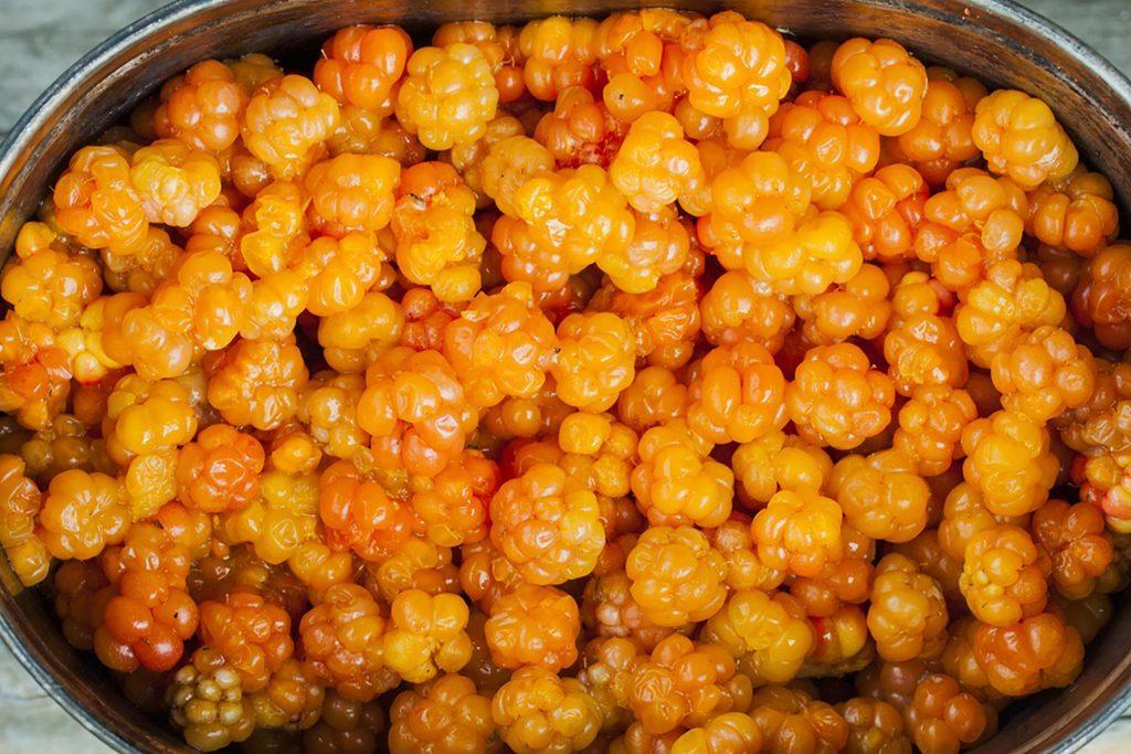 golden bilberries