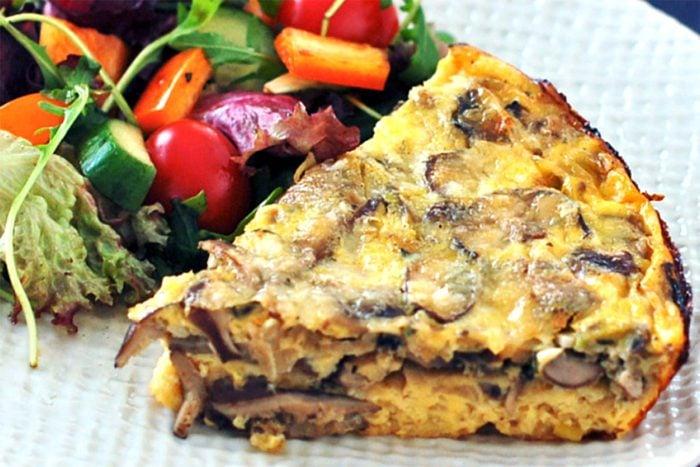 Baked-Mushroom-Leek-Frittata