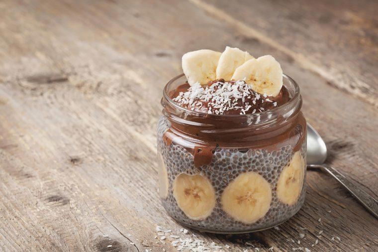Chia pudding.
