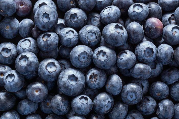 blueberries full frame