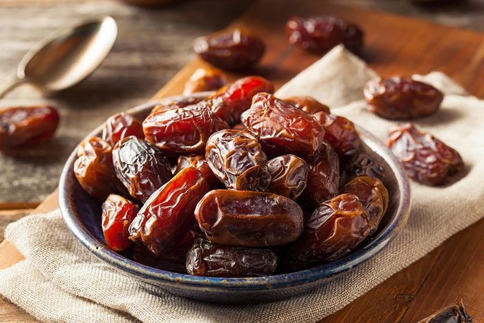 bowl of whole dates