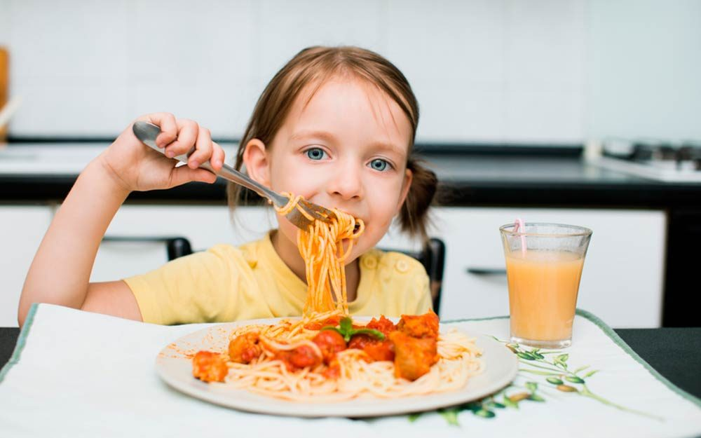 Your Kid Only Wants to Eat Pasta? Here's Why It's Actually OK