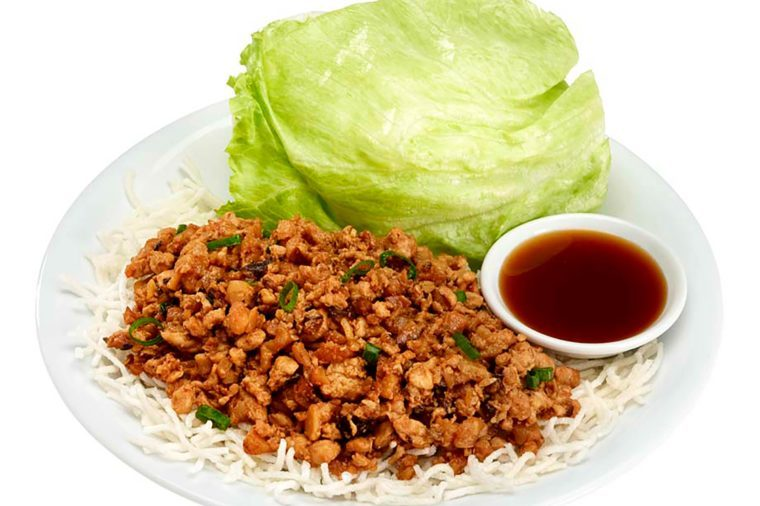 Traditional Chicken Lettuce Wraps from pandaexpress.com